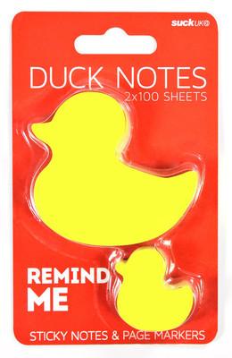 Suck Uk Duck Sticky Notes - Ördek Yapışkanlı Not Kağıdı