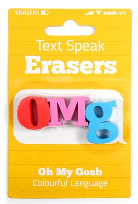 Suck Uk OMG Text Eraser - Silgi