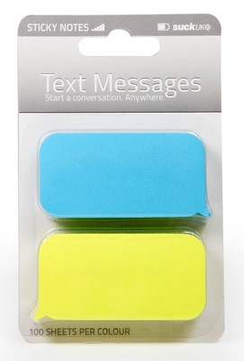 Suck Uk Text Message Sticky Notes - Yapışkanlı Not Kağıdı