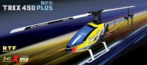 ALIGN T-REX 450 Plus DFC Uçusa Hazir Set