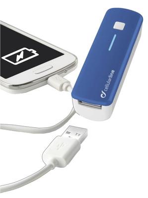 Cellular Line Smart Harici Şarj 2200Ma Mavi