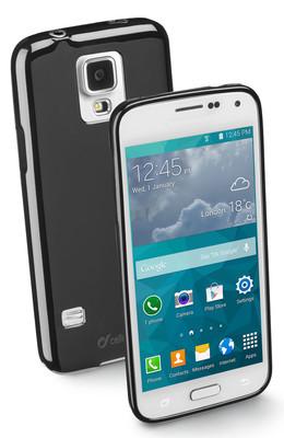Cellular Line  Samsung S5 Mini Shocking Kauçuk Kılıf Siyah