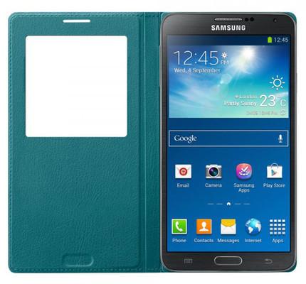 Samsung Galaxy Note 3 S-View Cover Mavi