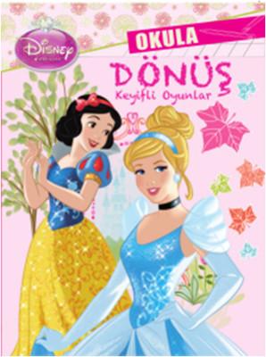 Disney Prensesler Okula Dönüş Keyifli Oyunlar