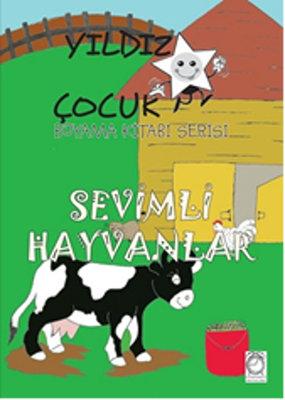 Yıldız Çocuk Boyama Kitabı Serisi 4 - Sevimli Hayvanlar