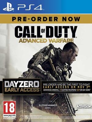 Call Of Duty Advanced Warfare Day Zero PS4