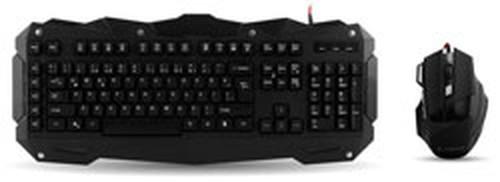 Everest Rampage KM-R1 Siyah Usb Aydınlatmalı Q Multimedia Klavye + Mouse Set