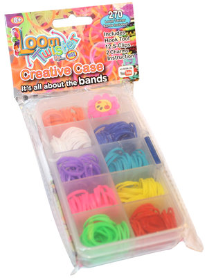 Rainbow Loom Case 270 Bands SV 11789