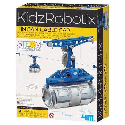 4M Tin Can Cable Car / Metal Kutu Teleferik 3358