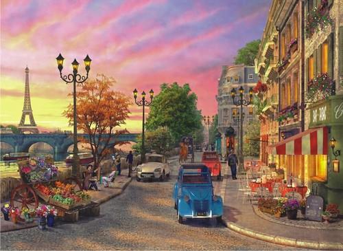 Anatolian Pariste Aksamüstü / Seine Sunset 1000 parça 1004