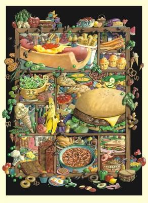 Anatolian Ne Yesek / Shadowbox Hunt-food 1000 parça 1008