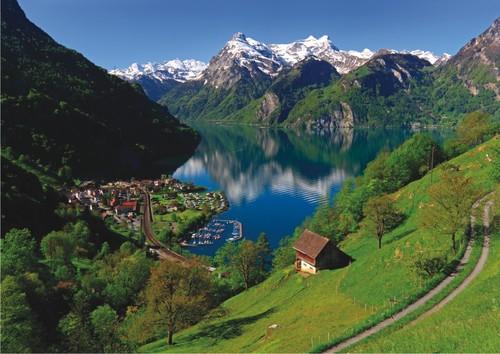 Anatolian Lake Lucerne Switzerland / 1500 parça 4533