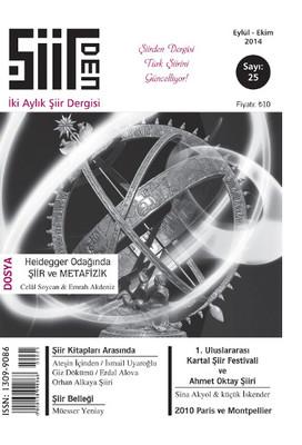 Şiirden İki Aylık Şiir Dergisi - Sayı: 25 - Eylül-Ekim