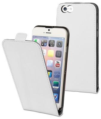 Muvit Slim Kapaklı iPhone 6 Kılıfı (Beyaz) 23055