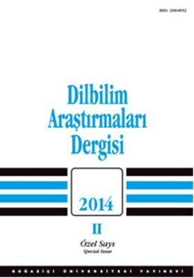 Dilbilim Araştırmaları 2014/2
