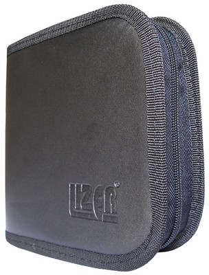 Lizer PLC24-1 24lü Siyah Renkli Deri CD Çantası