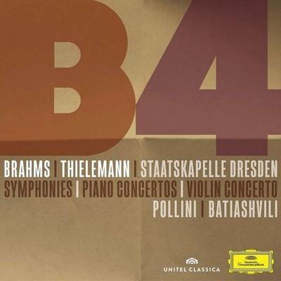 Brahms: Symphonies, Piano Concertos, Violin Concerto] [3 Cd+Dvd Boxset] [Maurizio Pollini, ...]