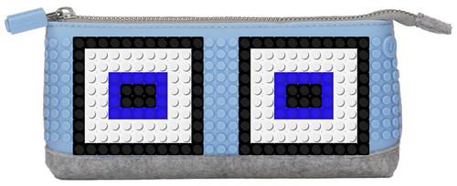 Pixel Kalem Kutsu 02 Gri / Mavi