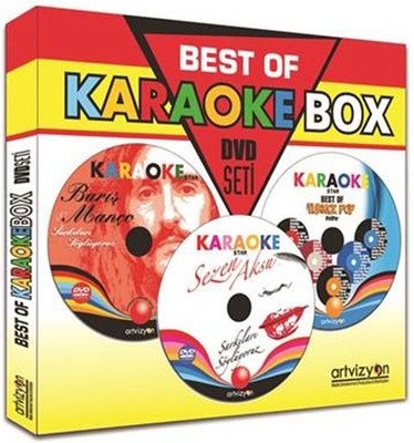 KaraokeBox Eğlence Seti + DVD Disk + Mixer + Mikrofon