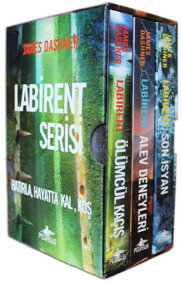 Labirent Serisi Seti - 3 Kitap Takım