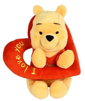 Disney Wtp Temali - Pooh Kalp Halkali 25Cm 2K6086