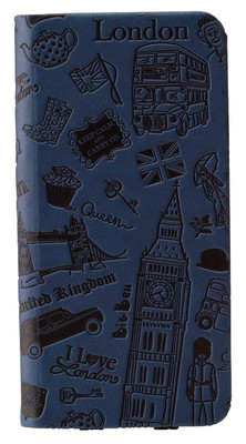 Ozaki O!coat Travel London iPhone 6 Kılıfı (Mavi)