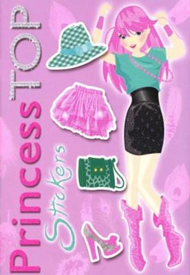 Princess Top Stickers Lila