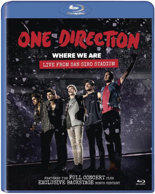 Where We Are Live From San Siro Stadium (Blu-Ray)