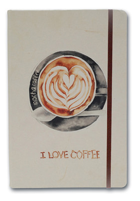 Notelook I Love Mocha Coffee A7 Çizgili