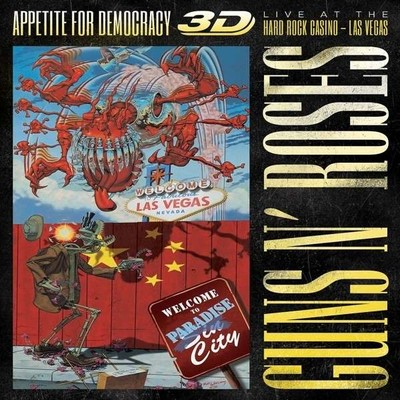 Appetite For Democracy: Live At The Hard Rock Casino - Las Vegas [Deluxe 3D Blu-Ray + 2Cd, 12 Page]