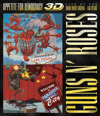 Appetite For Democracy: Live At The Hard Rock Casino - Las Vegas [3D Blu-Ray] (Explicit)