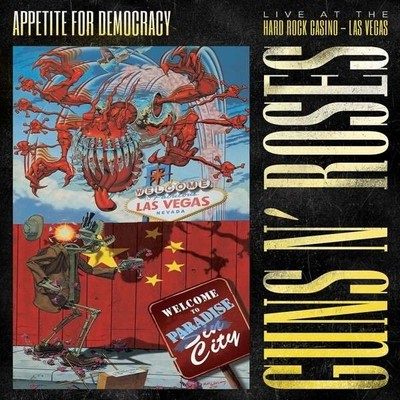 Appetite For Democracy: Live At The Hard Rock Casino - Las Vegas [Limited Boxset, DVD + 2CD),12 P..]