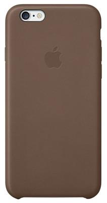 Apple iPhone 6 için Deri Kılıf - Koyu Kahve MGR22ZM/A