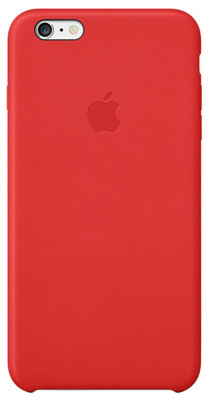 Apple iPhone 6 Plus için Deri Kılıf - (PRODUCT)RED MGQY2ZM/A