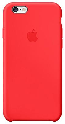 Apple iPhone 6 için Silikon Kılıf - (PRODUCT)RED MGQH2ZM/A