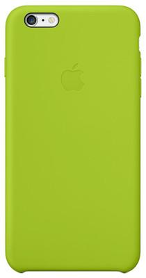 Apple iPhone 6 Plus için Silikon Kılıf - Yeşil MGXX2ZM/A