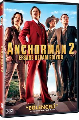 Anchorman 2: The Legend Continiues - Anchorman 2: Efsane Devam Ediyor (SERI 2)