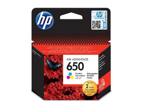 HP CZ102AE (650) Mürekkep Kartus Üç Renk
