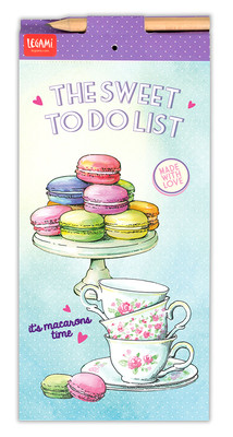 Legami Don't Forget - Magnetic Note-Pad Macaron