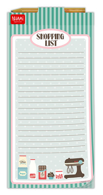 Legami Don't Forget - Magnetic Note-Pad Shopping List