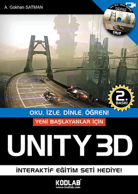 Yeni Başlayanlar İçin Unity 3D - Oku İzle Dinle Öğren!