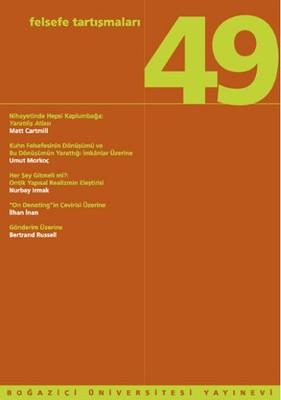 Felsefe Tartışmaları 49