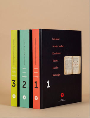 İstanbul Araştırmaları Enstitüsü Yazma Eserler Kataloğu - 3 Kitap Takım