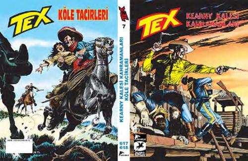 Tex 7 - Kearny Kalesi Kahramanları - Köle Tacirleri