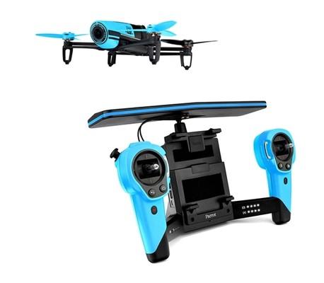 Parrot Bebop Drone Mavi & Skycontroller PF725101