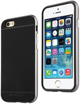 TOTU Evoque Case Series for iPhone 6 Plus Grey