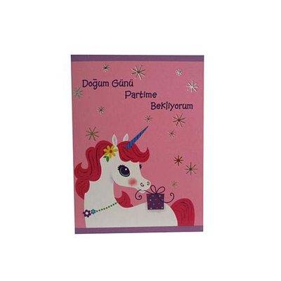 Hallmark Minik Kartlar Unicorn (Atli)  Hk26 337