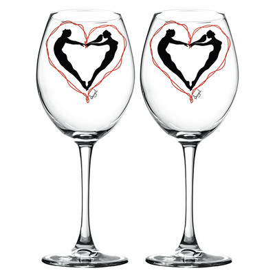 Tosbaa Ruh İkizleri Şarap Kadehi - Tosbaa Mumluk