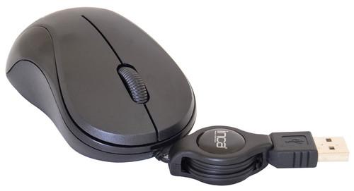 INCA USB OPTİK ROLLER MİNİ BLACK MAKARALI MOUSE