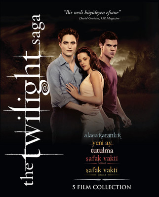 The Twilight Saga 5 Film Collection